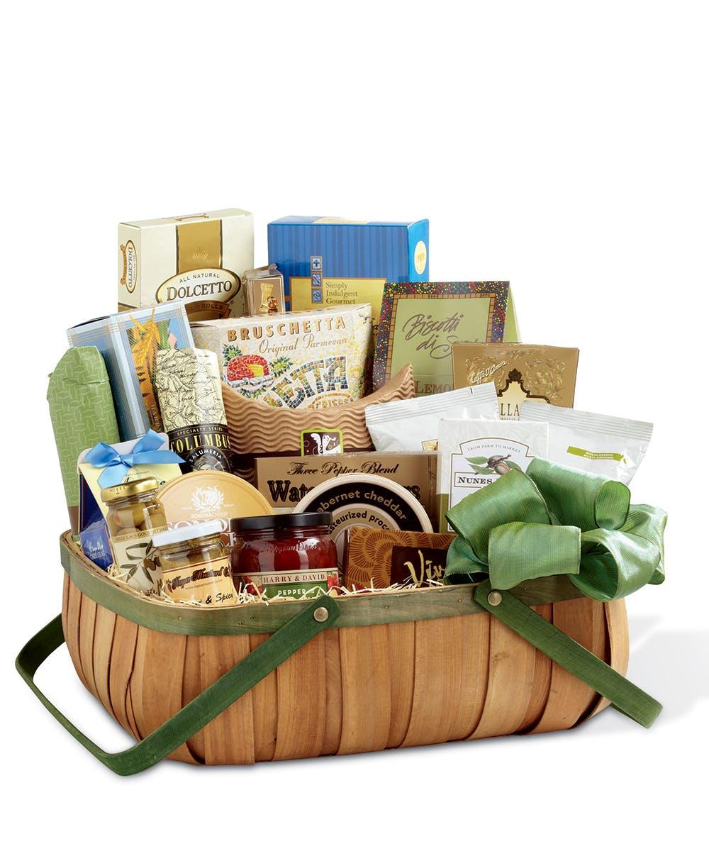 Heartfelt Sympathies Gourmet Basket  sc 1 st  Nortonu0027s Florist & Birmingham Gift Baskets u0026 Homewood Gift Delivery