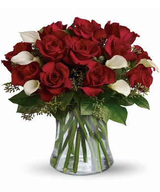 Be Still My Heart - Dozen Red Roses