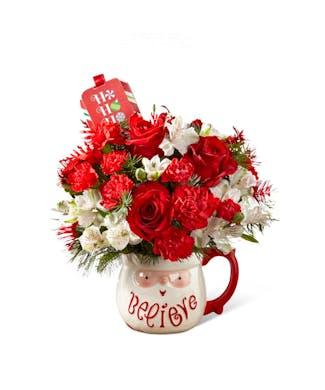 Believe Mug Bouquet