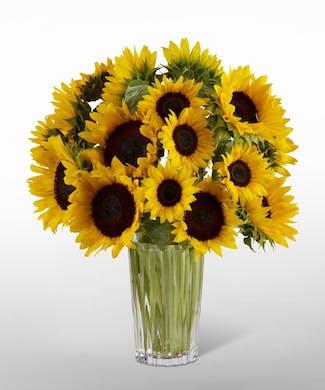 Golden Sunflower Bouquet