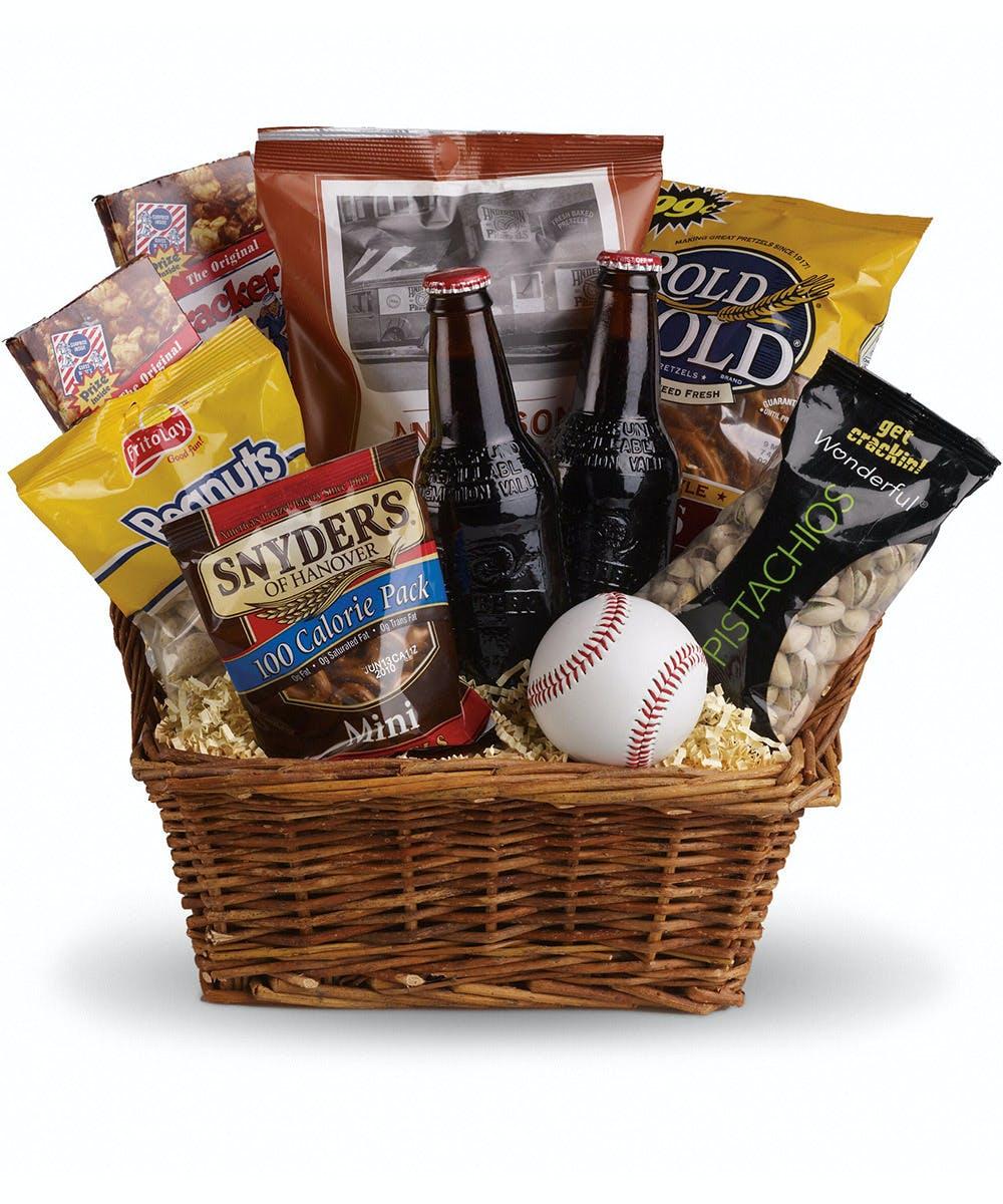 About Delivery Timing  sc 1 st  Nortonu0027s Florist & Baseball Gift Basket | Birmingham Gift Baskets Delivered