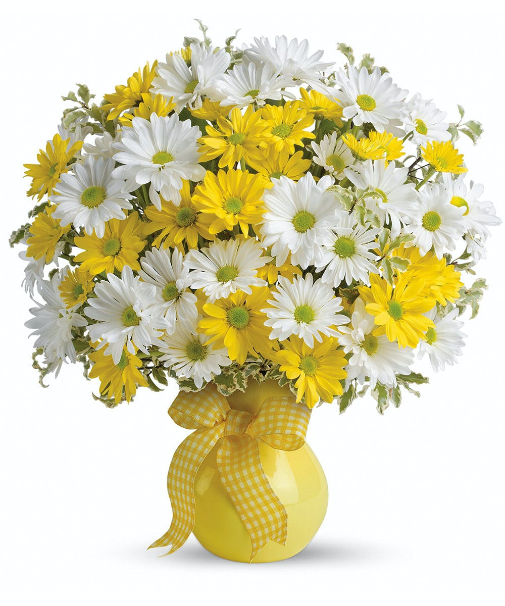 Upsy Daisy Cheerful Bouquet Hoover Homewood Flower Delivery