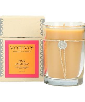 Votivo Pink Mimosa Candle
