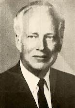 Studio portrait of John Norton, circa 1950